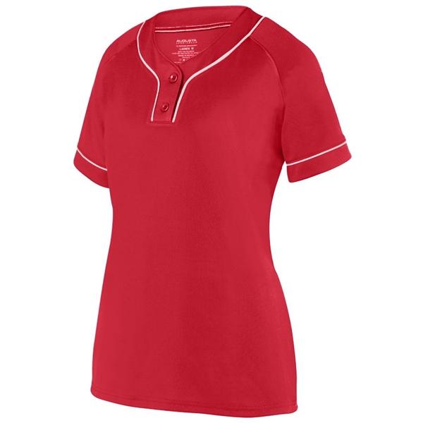 Augusta Sportswear Women's Overpower Two-Button Jersey