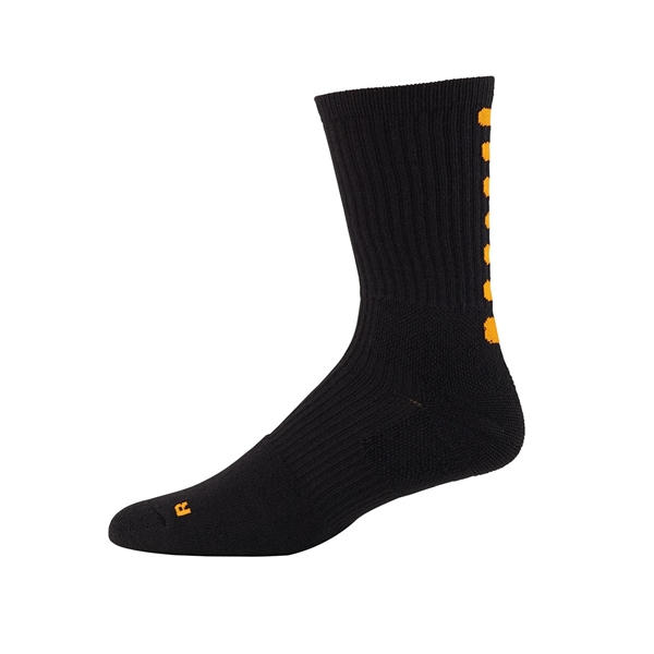 Augusta Sportswear Color Block Crew Socks