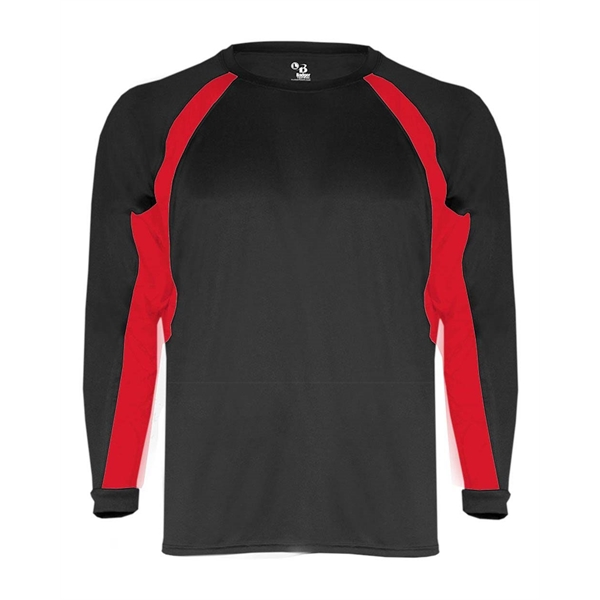 Badger Youth B-Core Hook Long Sleeve T-S