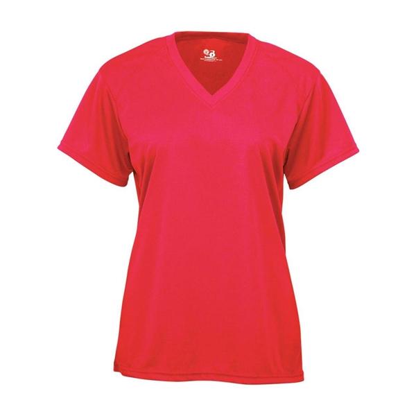 Badger Youth B-Core V-Neck T-Shirt