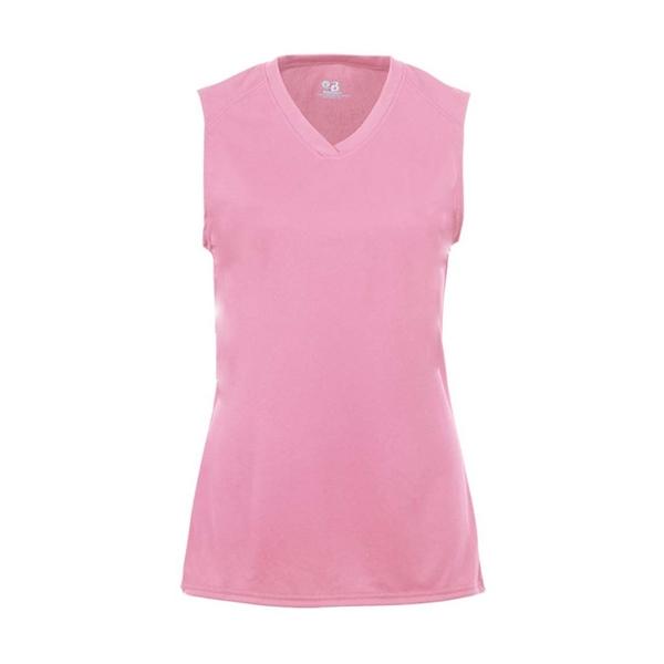 Badger Girls' B-Core Sleeveless T-Shirt
