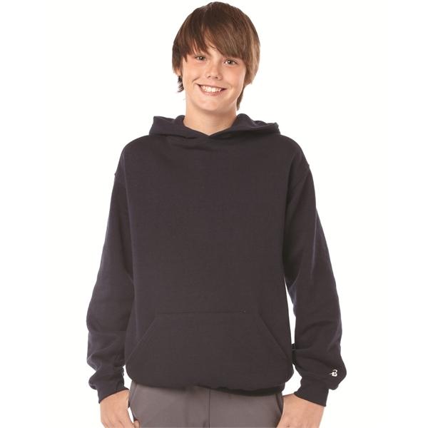 Badger Youth Hooded Sweatshirt