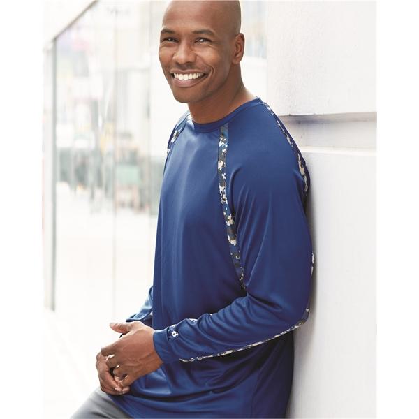 Badger Digital Camo Hook Long Sleeve T-Shirt