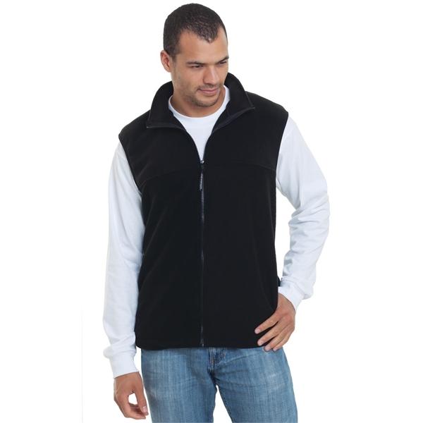 Bayside USA-Made Full-Zip Fleece Vest