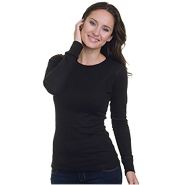 Bayside Women's USA-Made Long Sleeve Thermal