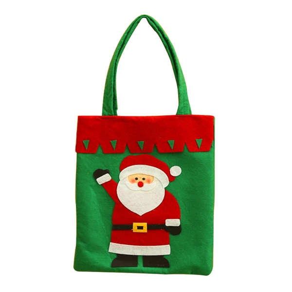 Non-Woven Tote Bag For Christmas Candy