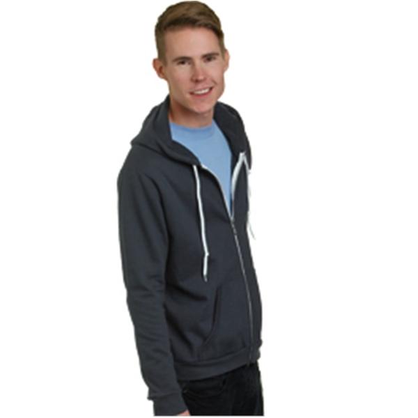 Bayside USA-Made Unisex Full-Zip Fleece