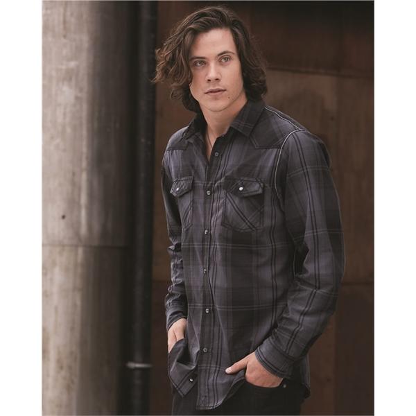 Burnside Long Sleeve Western Shirt