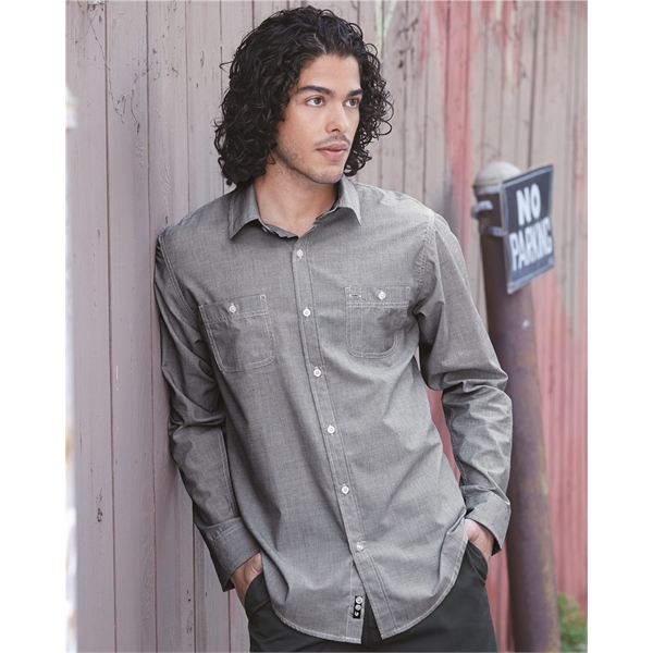 Burnside Mini-Check Long Sleeve Shirt