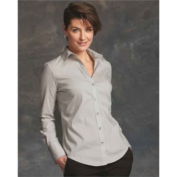 Calvin Klein Women's Cotton Stretch Shir