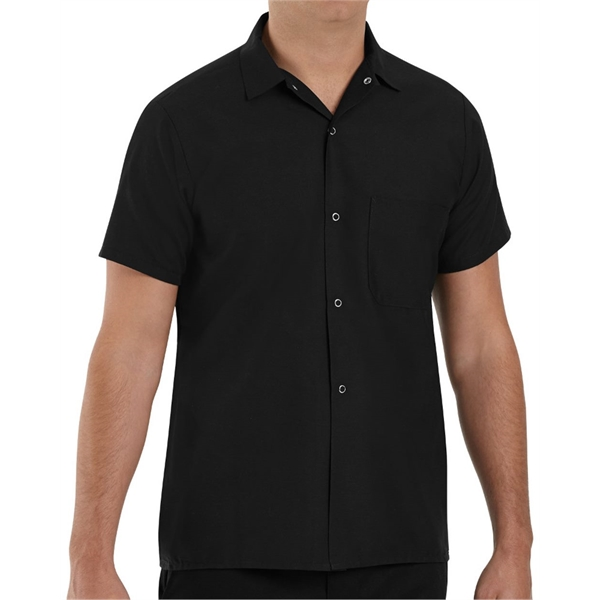 Chef Designs Poplin Cook Shirt with Grip