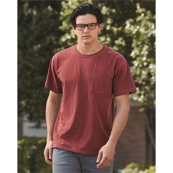 Comfort Colors Garment-Dyed Heavyweight Pocket T-Shirt