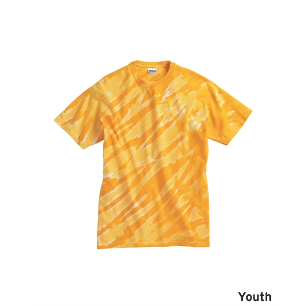 Dyenomite Youth One Color Tiger Stripe T-Shirt
