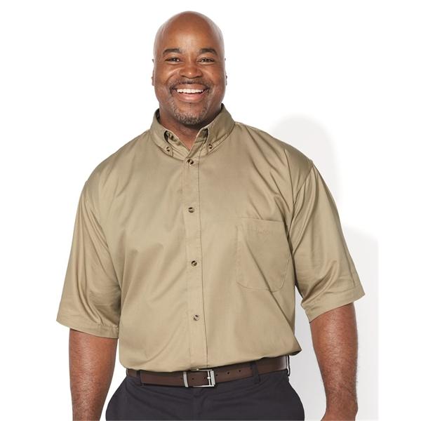 FeatherLite Short Sleeve Twill Shirt Tal