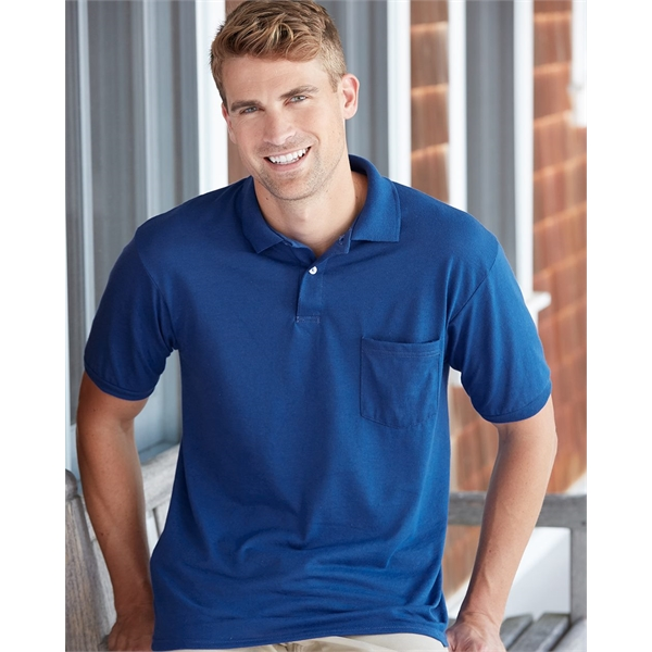 Hanes Ecosmart® Jersey Sport Shirt with