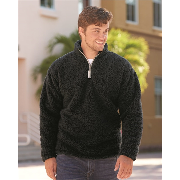 J. America Sherpa Quarter-Zip Pullover