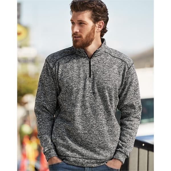 J. America Cosmic Fleece Quarter-Zip Sweatshirt