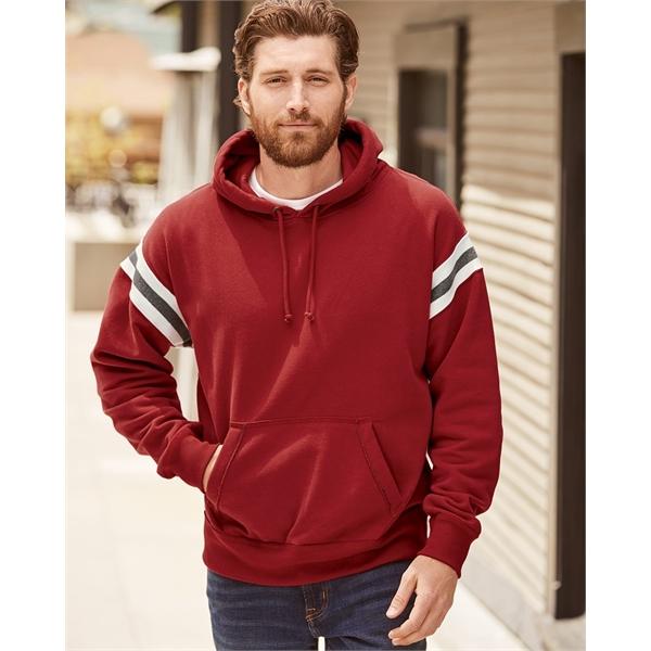 J. America Vintage Athletic Hooded Sweatshirt