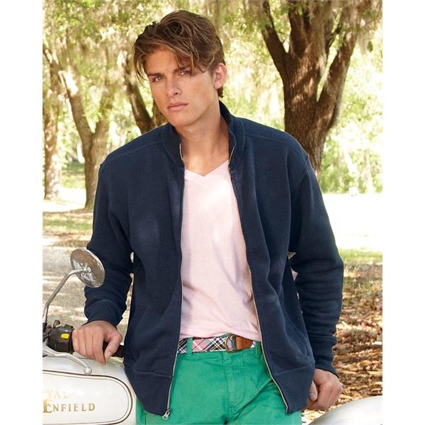 J. America Vintage Fleece Track Jacket