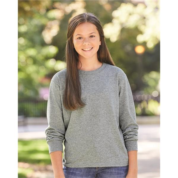 JERZEES Dri-Power® Youth Long Sleeve 50/50 T-Shirt