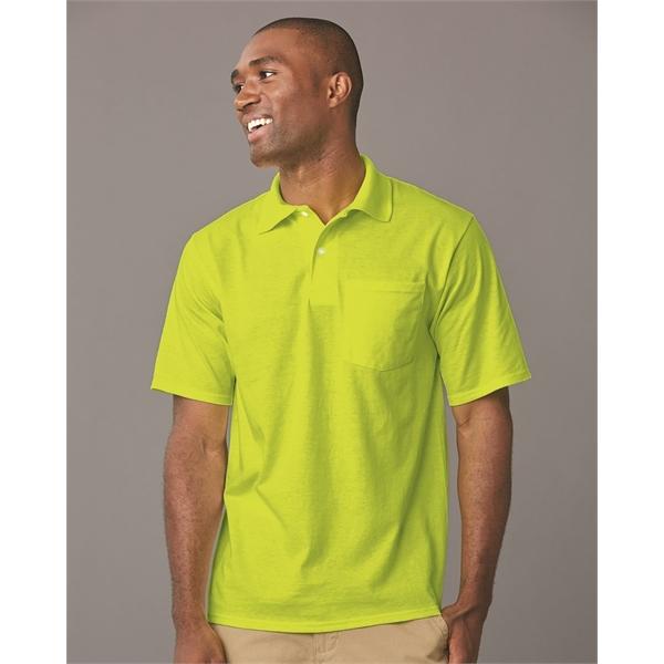 JERZEES SpotShield™ 50/50 Sport Shirt wi