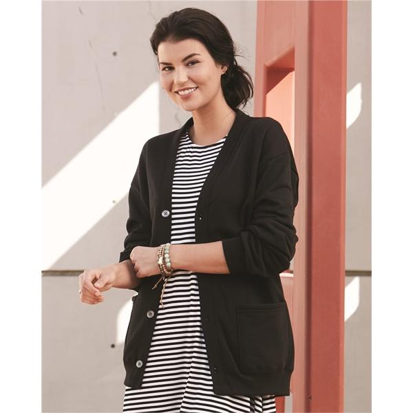 JERZEES NuBlend® Cardigan Sweatshirt