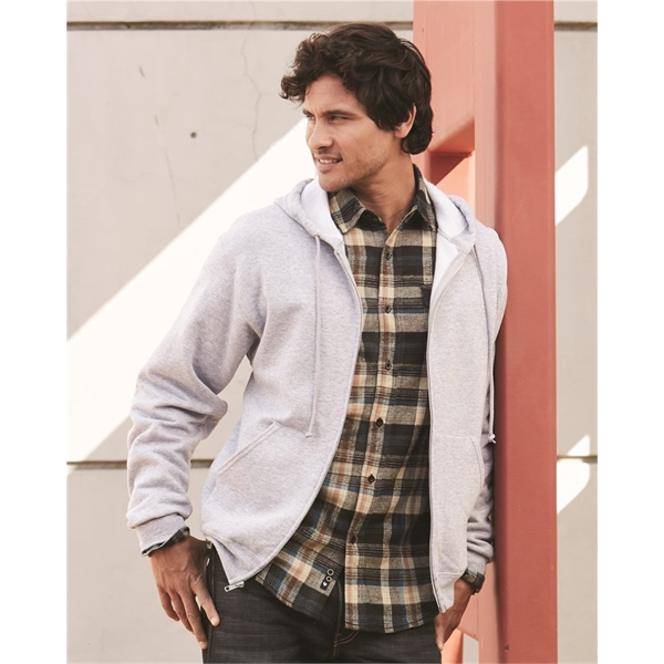 JERZEES NuBlend® Full-Zip Hooded Sweatsh