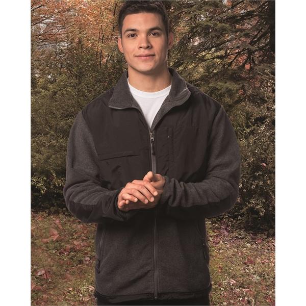 Sierra Pacific Nylon/Fleece Jacket