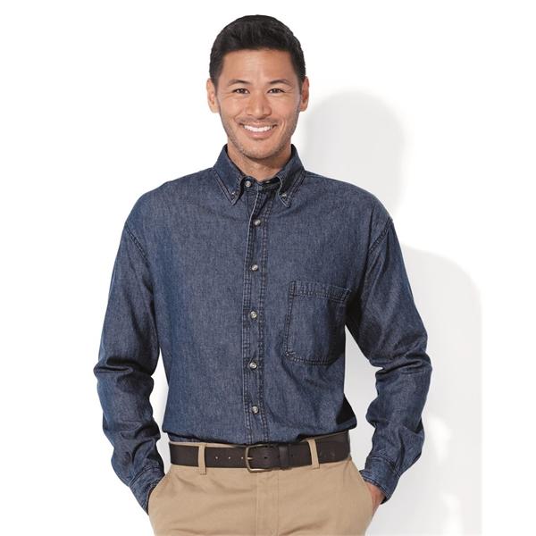 Sierra Pacific Long Sleeve Denim Shirt