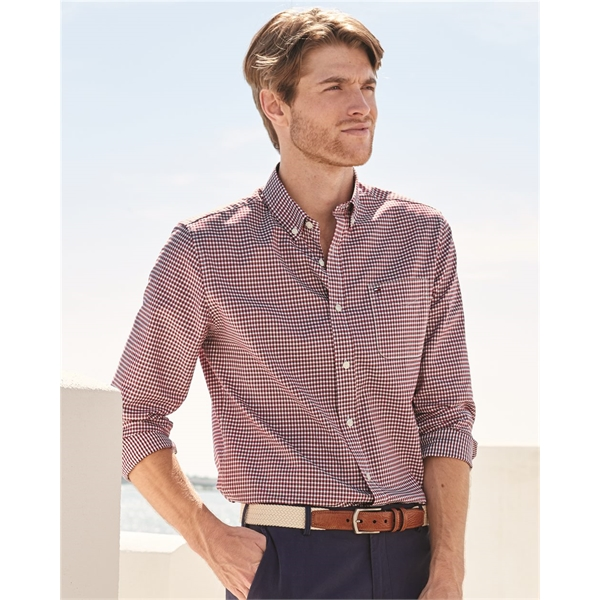 Tommy Hilfiger 100s Two-Ply Gingham Shir