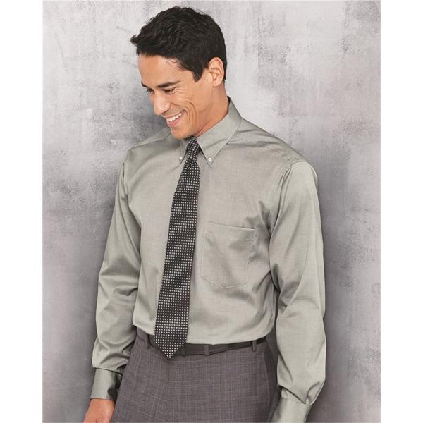 Van Heusen Non-Iron Pinpoint Oxford Shir