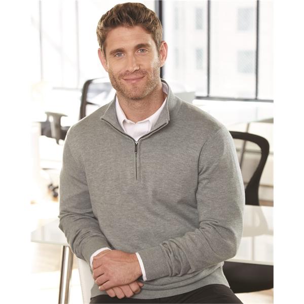 Van Heusen Quarter-Zip Sweater