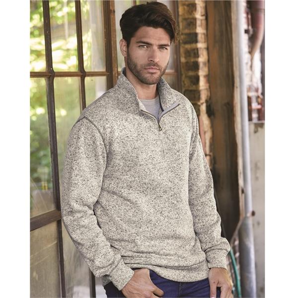 Weatherproof Vintage Sweaterfleece Quarter-Zip Sweatshirt