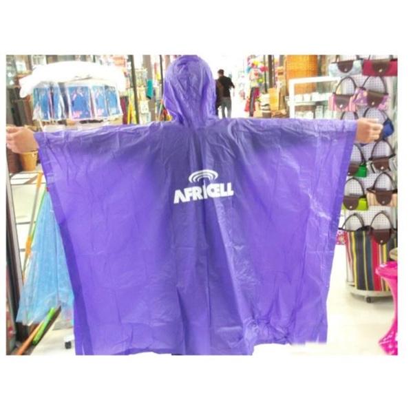 Disposable PE Rain Poncho