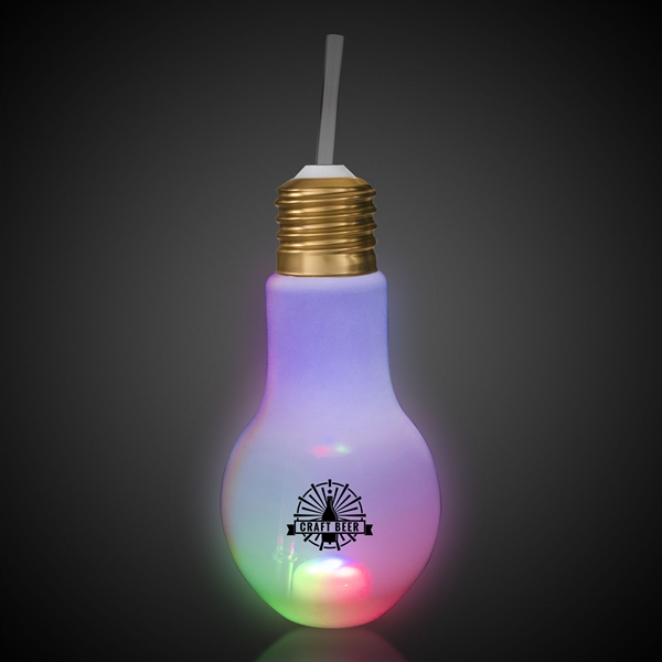 16oz LED Light Bulb Cup
