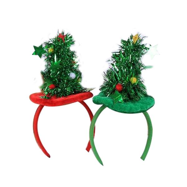 Mini Christmas Tree Head Band