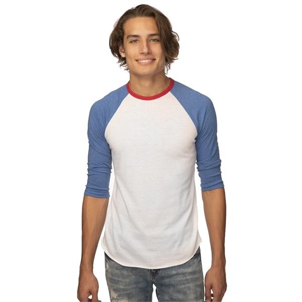 Unisex Americana Raglan Baseball Shirt