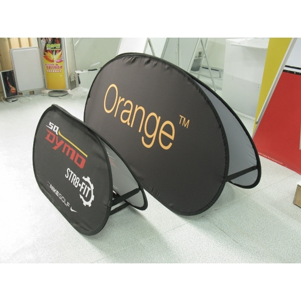 Foldable Pop Up Display Sign w/ Full Logo Free Shipping