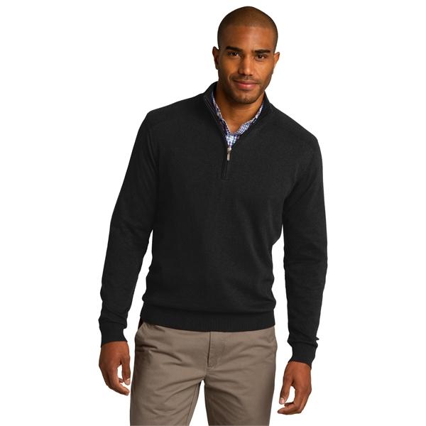Port Authority 1/2-Zip Sweater.