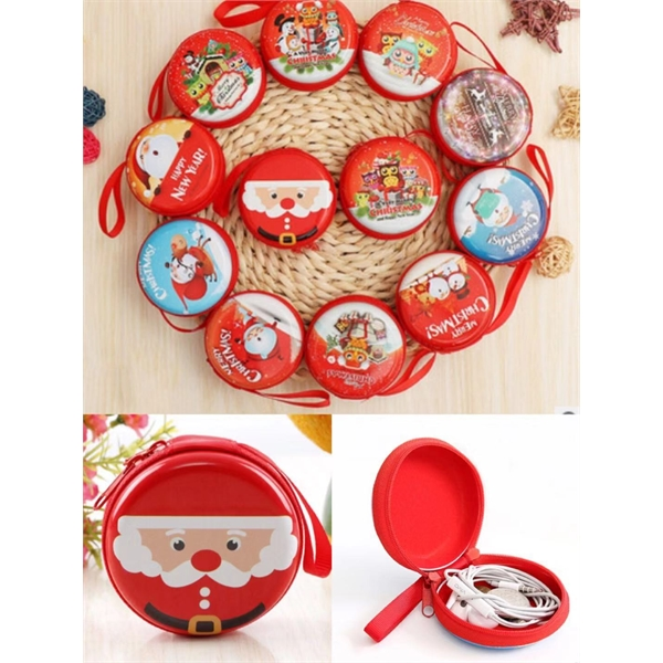 Christmas coin pouch