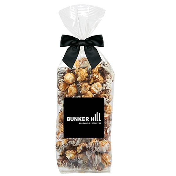 Chocolate Pretzel Popcorn Gift Bag