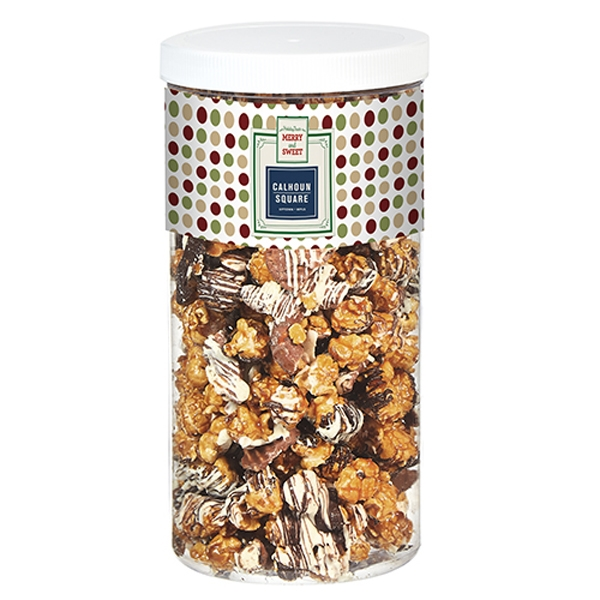 Chocolate Pretzel & Potato Chip Popcorn Tub