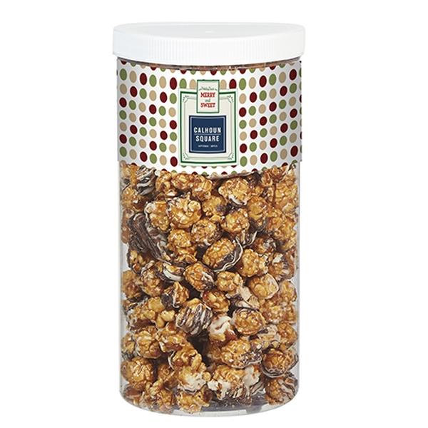 Chocolate Pretzel Popcorn Tub
