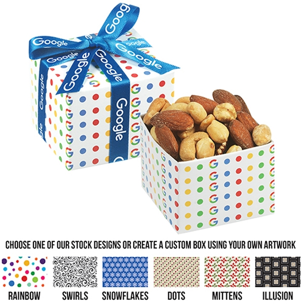 Small Gala Gift Box With Mixed Nuts
