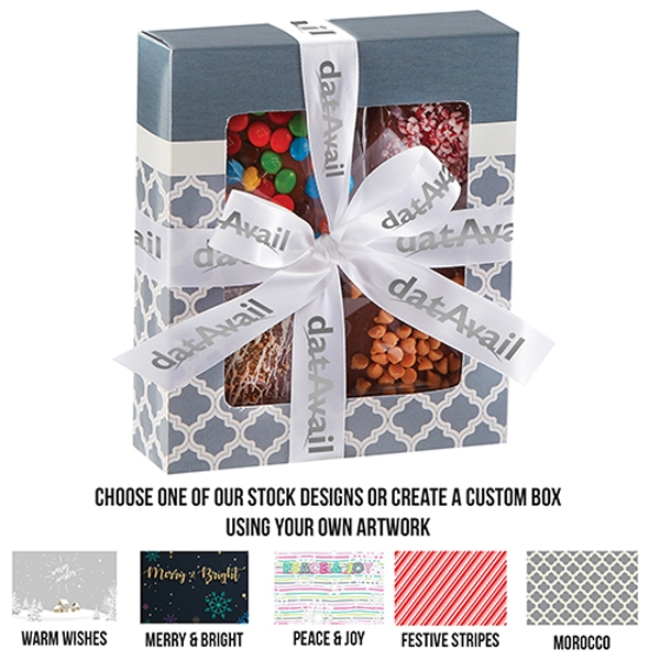 Chocolate Covered Gourmet Gift Box