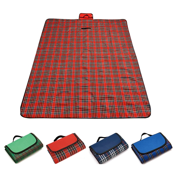 Free Shipping Roll-Up Picnic Blanket With Custom Logo