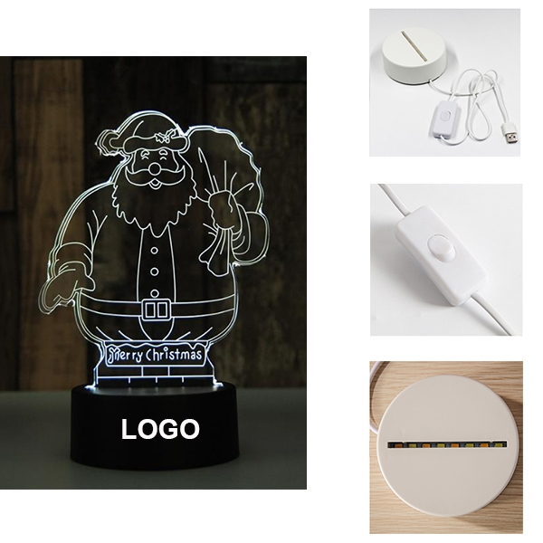 Christmas 3D Led Lamp