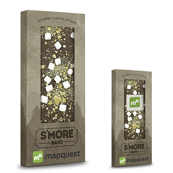 Belgian Chocolate Bar With S'mores - 3.5 oz