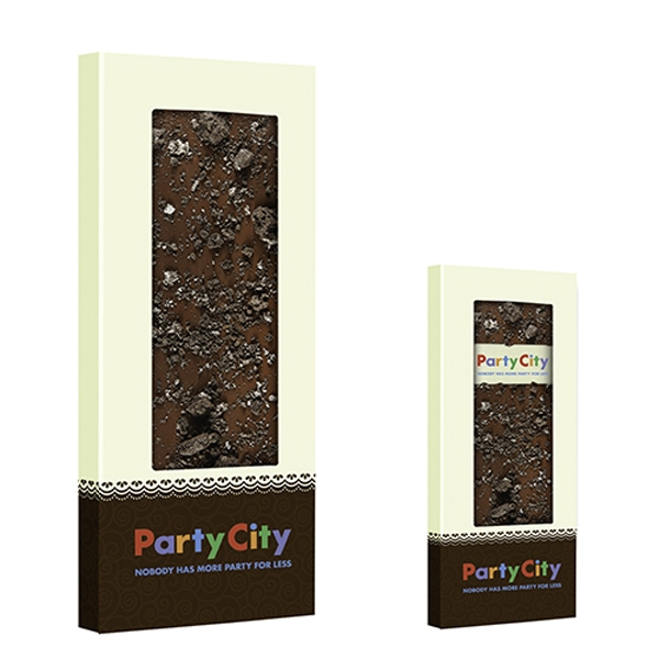Belgian Chocolate Bar With Crushed Oreo's® - 3.5 oz