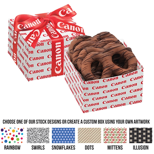 Chocolate Pretzel Gift Box - Chocolate Drizzle